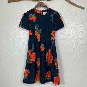 McGinn Navy Blue floral dress